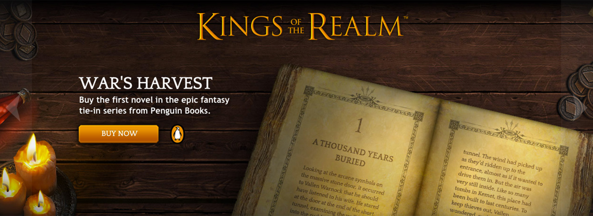 Kings of the Realm Book